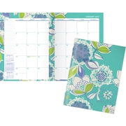 """Staples® 2016 Large Monthly Planner, January-December, Design, (26551-16), 8 1/4"""" x 10 7/8"""""""