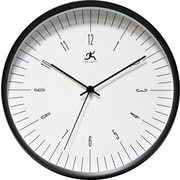 "Infinity Instruments 12"" Bel Air Analog Wall Clock, Black"