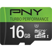 PNY 16GB Turbo MicroSDXC CL10 90MB/s Flash Memory Card