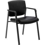 basyx by HON Executive Guest Chair Black SofThread Leather (BSXVL605SB11)