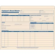 TOPS® Employee Record Master File Jacket, 9 1/2 x 11 3/4, 10 Point Manila, 20/Pack (3280)