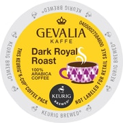 Gevalia Kaffe Dark Royal Roast Coffee K-Cup Pods, 24 Count