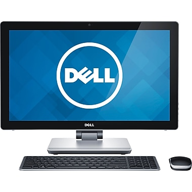 Certified Refurbished HP Snow White cw All-in-One Desktop PC with Intel Celeron J Processor, 4GB Memory,