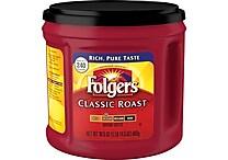 Folgers® Classic Roast Ground Coffee, Regular, 30.5 oz. Can