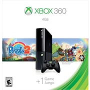 Microsoft L9V-00039 XB360 4GB Peggle 2 Value Console Bundle