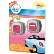 Febreze® Car Vent Clips Air Fresheners, Gain® Island Fresh, 2/Pack