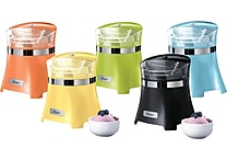 Oster 1.5qt Gel Canister Ice Cream, Frozen Yogurt & Sorbet Maker, Assorted Colors