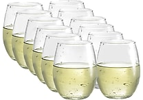 Luminarc Bola Stemless 15 Ounce Wine Glasses, 12/Pack