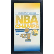 Golden State Warriors 2015 NBA Logo Mirror