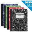 Staples Composition Notebook, College Ruled, Various Colors, Each (25536M)