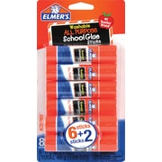 Elmer's All-Purpose School Glue Stick, 6+2 Pack