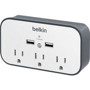 Belkin USB Wall Mount Surge Protector with Cradle