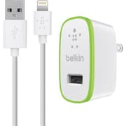 Belkin Home Charger with 4ft Lightning Cable White