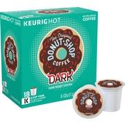 The Original Donut Shop® Dark Coffee, Regular Keurig® K-Cup® Pods, 18 Count