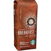 Starbucks® Breakfast Blend Ground Coffee, Regular, 1 lb. Bag