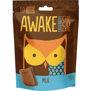 Awake Caffeinated Chocolate™ Milk Chocolate Bites, 5.29 oz. Bag, 6/Ct