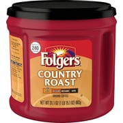 Folgers Country Roast Coffee Canister 31.1 oz