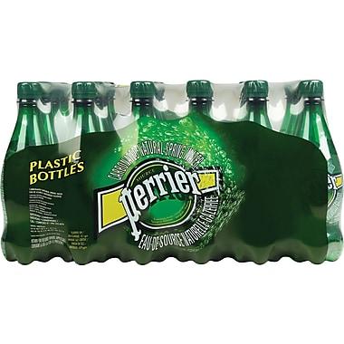 Perrier Carbonated Water, 500ml Plastic Bottles, 24/Pack