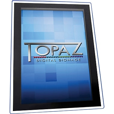 "Topaz Digital Signage (TPZ-POS-23) 23"" Promotional HD Display with Blue Halo"