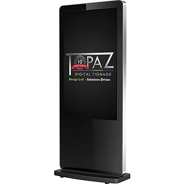 "Topaz Digital Signage (TPZ-TS-46FS) 46"" Freestanding Broadcast LED Display with Built-In Wi-Fi and Media Player"
