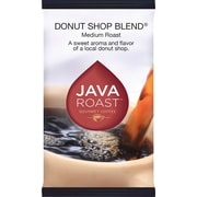 Java Roast Gourmet Donut Shop Ground Coffee, Regular, 1.75 oz., 42 Packets