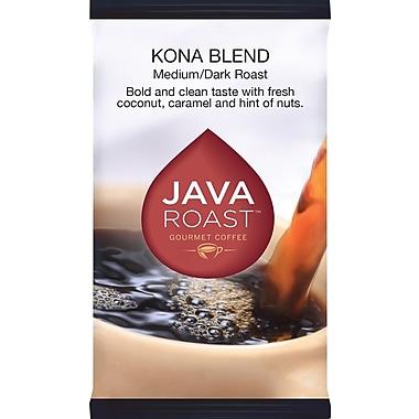 Java Roast Gourmet Kona Ground Coffee, Regular, 1.75 oz., 24 Packets