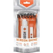 WHOOSH! Screen Shine Duo Screen & Device Cleaning Kit, 100ml + 8ml Bottles + 2 Cloths