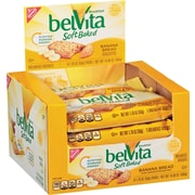 BelVita Soft Baked Breakfast Biscuit, Banana Bread Flavor, 8 bars/box