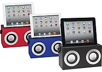Bluetooth Tablet Boombox, Assorted Colors