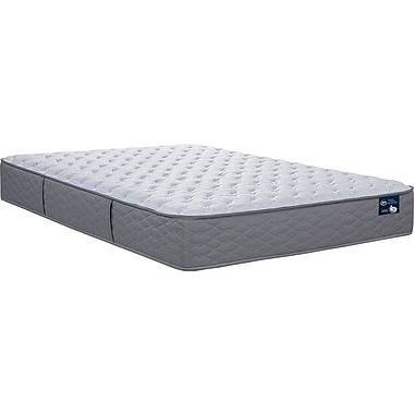 Serta Feathersby Plush Tight Top Mattress, Twin