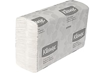 Kleenex® C-Fold Paper Towels, White, 1-Ply, 2,400 Sheets/Case