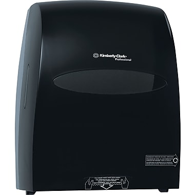 Kimberly-Clark Sanitouch Hardwound Towel Dispenser Smoke/Gray (9990)