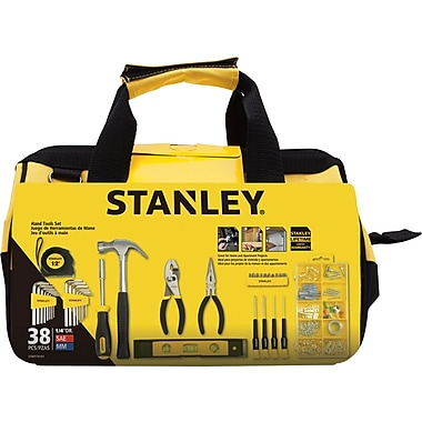 Stanley 38-Piece Mixed Tool Set