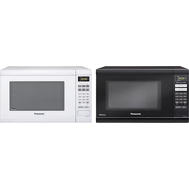 Panasonic 1.2 CU. FT. Countertop Microwave Oven, Black or White