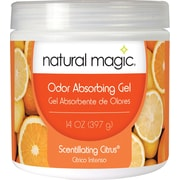 Natural Magic® Odor Absorbing Gel, Scentillating Citrus