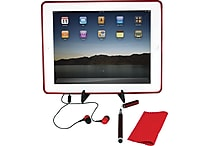 5 Piece Tablet Accessories Kit, Assorted Colors