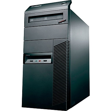 IBM/Lenovo Tower Model # M81 Intel Core I3-2100 (3.1Ghz), 4GB Ram, 500GB HDD, DVD-RW, Windows 10 Pro, Refurbished