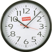 Staples Wall Clock