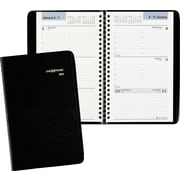 "2016 DayMinder® Weekly Appointment Book Planner, 4 7/8"" x 8"", Black, (G200-00)"