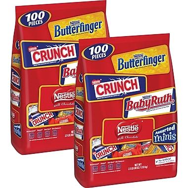 Nestlé® Assorted Chocolate Miniatures, 40 oz. 2/BD