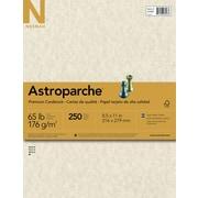 """ASTROPARCHE Cardstock, 8 1/2"""" x 11"""", 65 lb., Natural Parchment, 250 sheets"""
