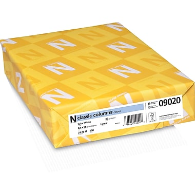 CLASSIC COLUMNS® Cardstock, 8 1/2
