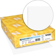 """CLASSIC CREST® Writing Paper, 8 1/2"""" x 11"""", 24 lb., Smooth Finish, Recycled 0 Bright White, 500/Ream"""