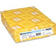 "CLASSIC CREST® Paper, 8 1/2"" x 11"", 70 lb., Smooth Paper, Avon Brilliant White, 500/Ream"