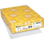 "CLASSIC® Laid Writing Paper, 8 1/2"" x 11"", 24 lb., Laid Finish, Whitestone, 500/Ream"