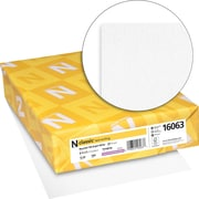 "Neenah Paper Classic® 8 1/2"" x 11"" 24 lbs. Laid Writing Paper, Natural White, 500/Ream"
