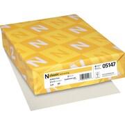 "CLASSIC® Laid Writing Paper, 8 1/2"" x 11"", 24 lb., Laid Finish, Antique Gray, 500/Ream"
