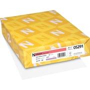 """CLASSIC® Linen Paper, 8 1/2"""" x 11"""", 70 lb., Linen Finish, Avon Brilliant White, 500/Ream"""