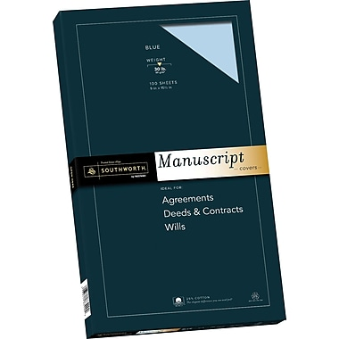 SOUTHWORTH Manuscript Covers, 9