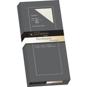 SOUTHWORTH Parchment Envelopes, #10, 24 lb., Parchment Finish, Ivory, 50/Box